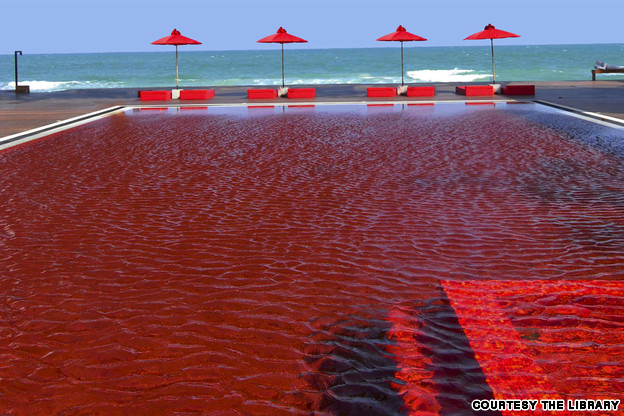 9-Amazing-Pools-library-pool-koh-samui-thailand-blood-red-moasaic