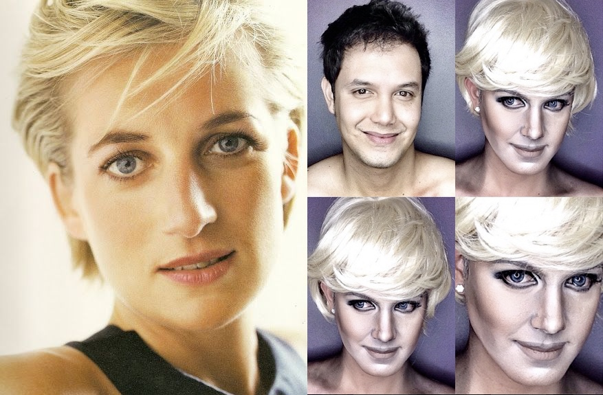 Makeup Princess Diana