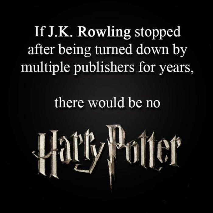harry potter don't give up, keep going