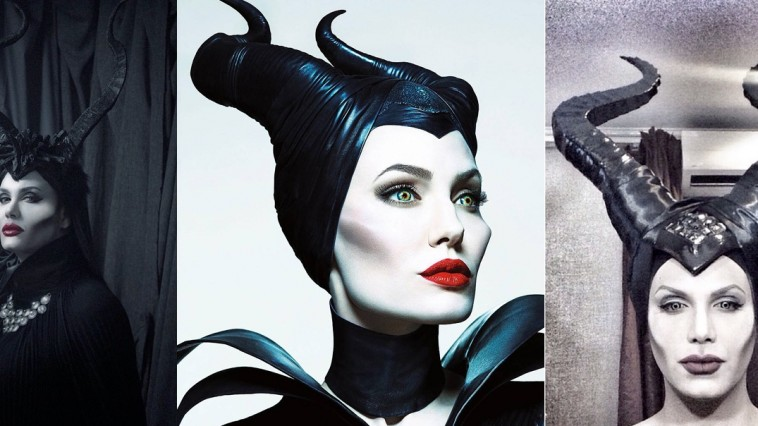 Makeup Transformation maleficent