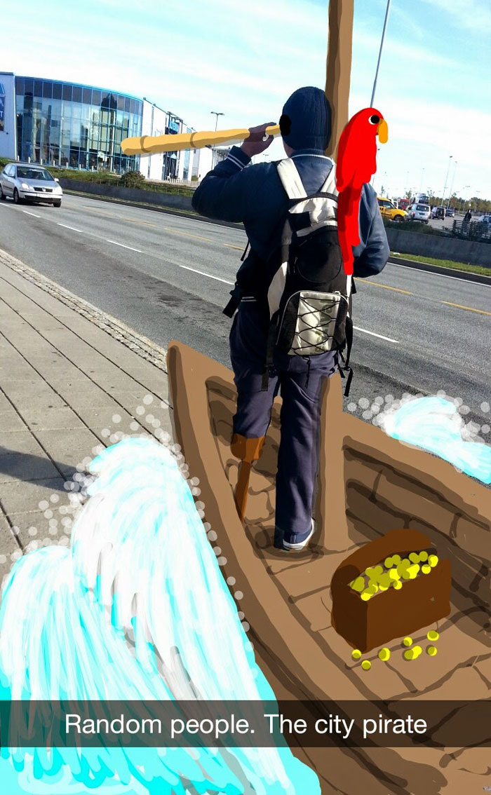 pirates in city