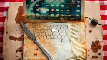Deep fried Macbook