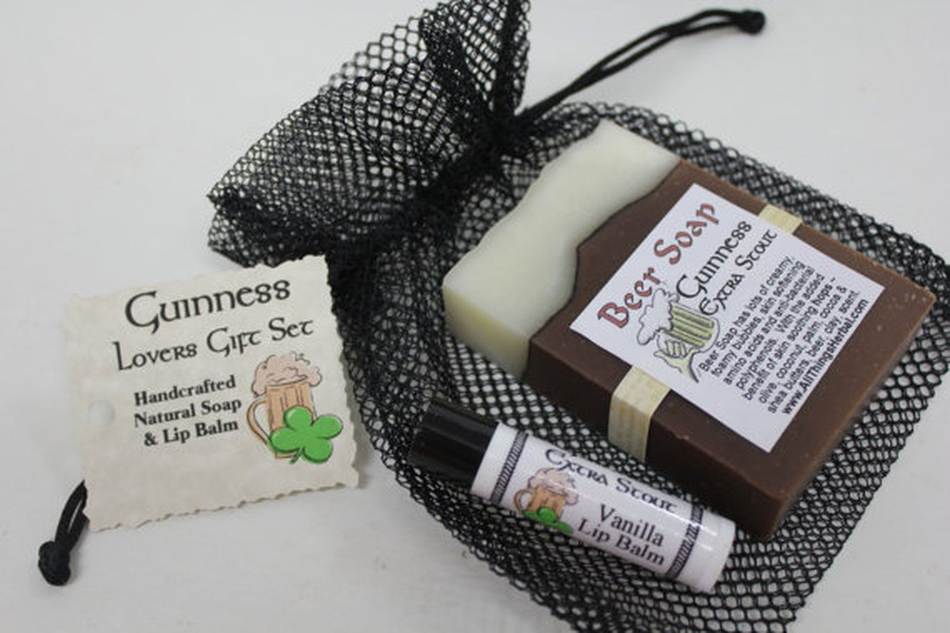 Beer Soap & Lip Balm