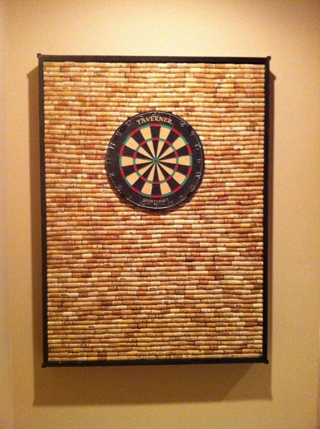 Cork dartboard