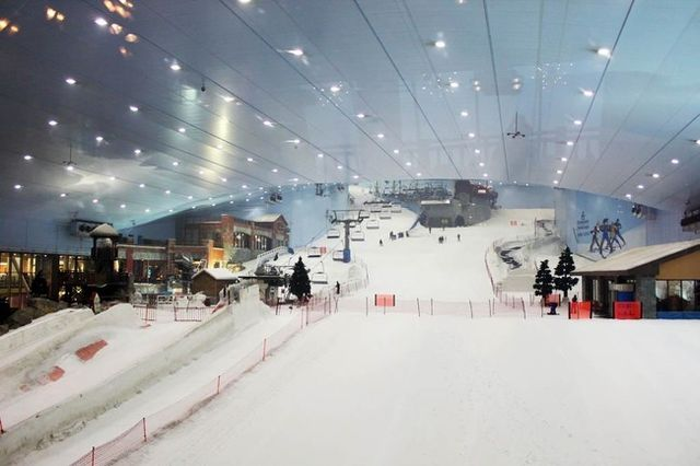 Indoor ski resort