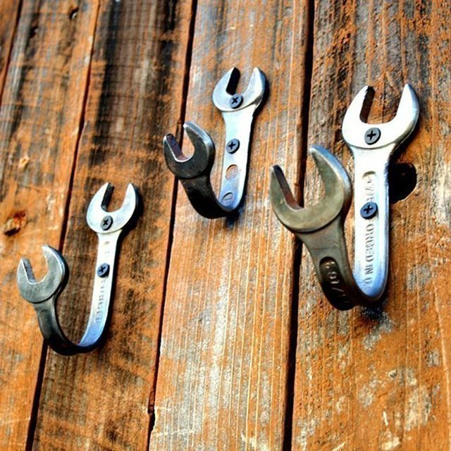 Wrench coat hook