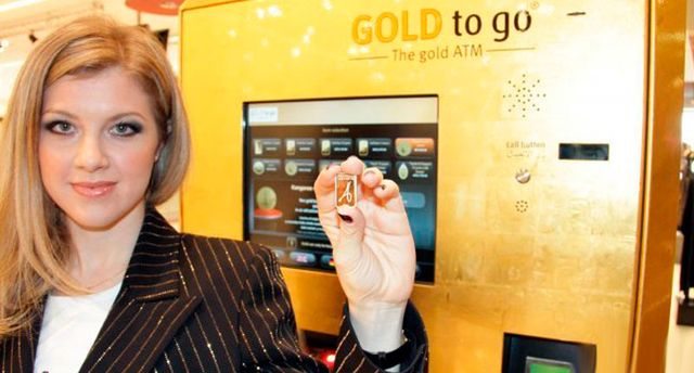 gold vending machines