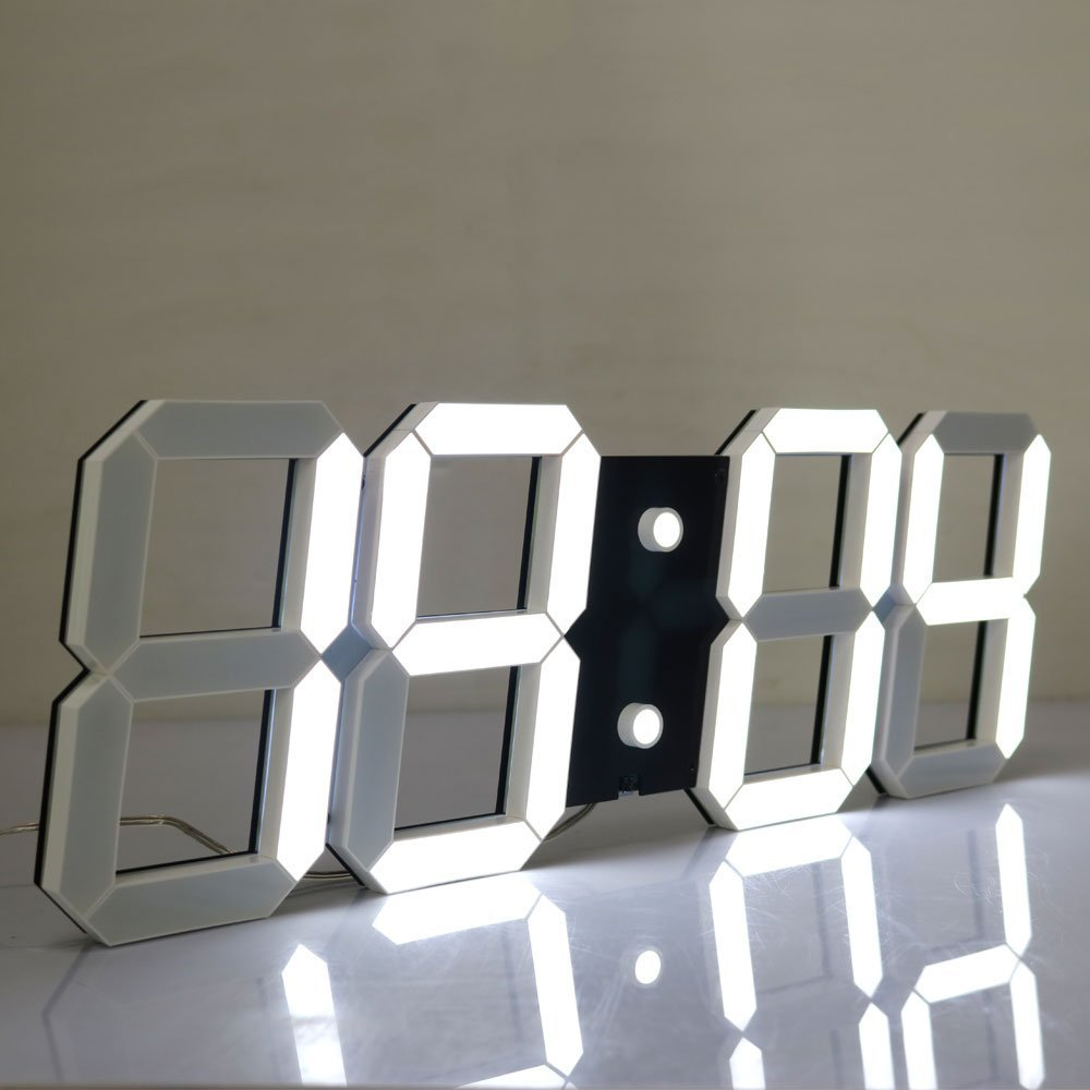 Best 5 unique wall clocks for modern home decoration Digital led wall clock