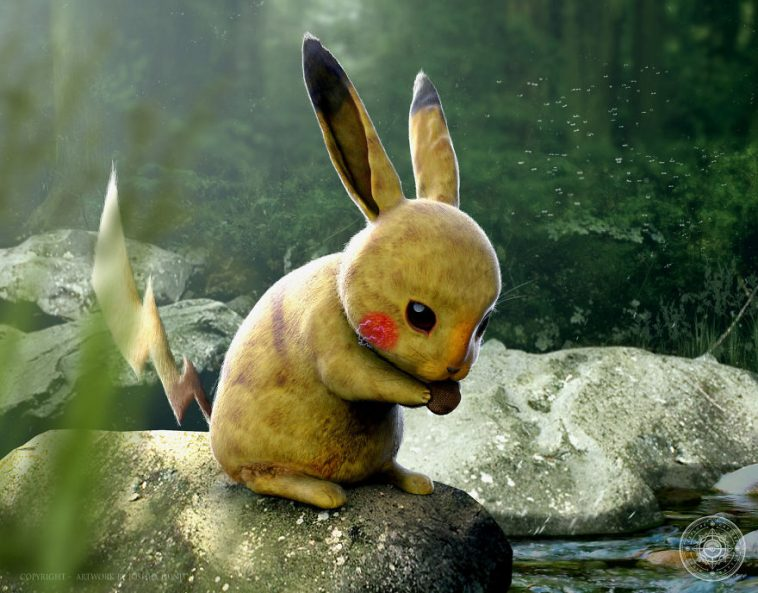 real pokemon pikachu