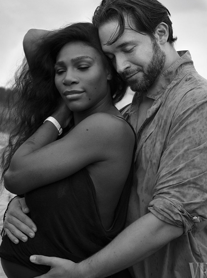 Serena Williams pregnant with Reddit Inventor Alexis Ohanian