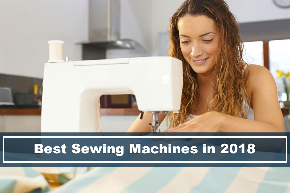 woman using the best sewing machine