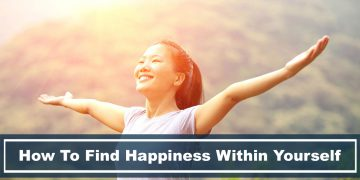 woman learned how to find happiness within herself