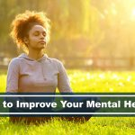 how to improve mental health meditation outdoors