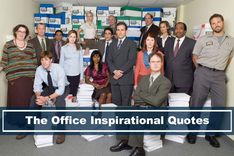 group picture of the office inspirational quotes