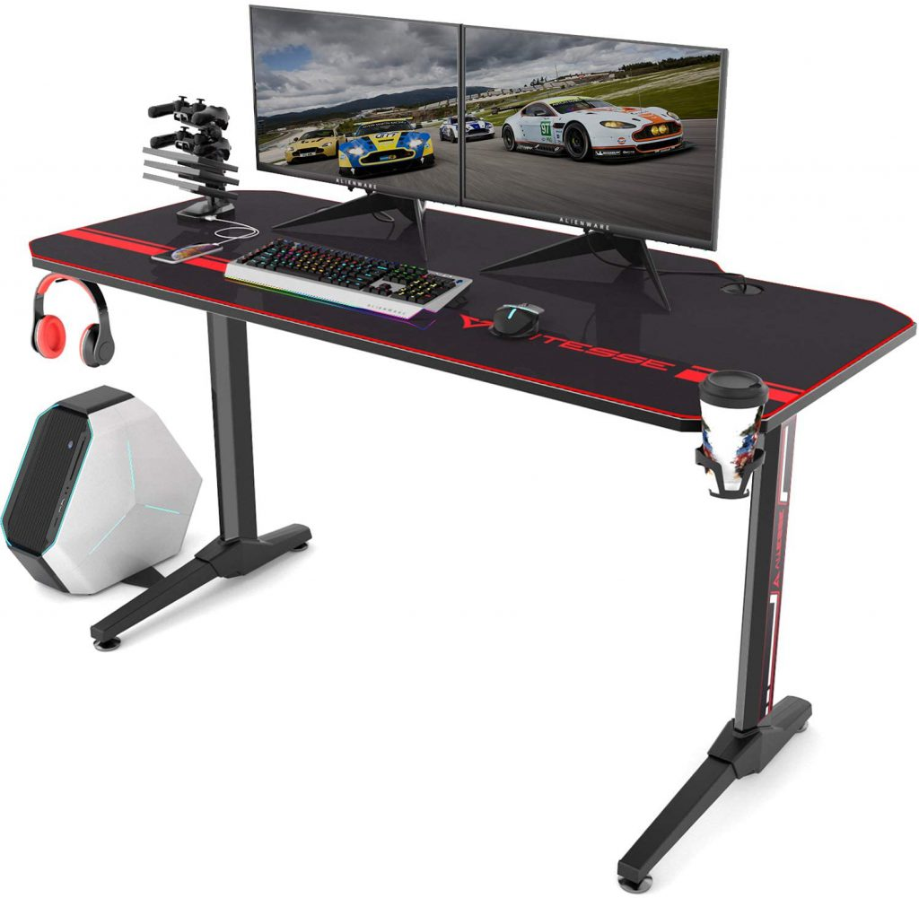Best Home Office Gaming Desk by Vitesse