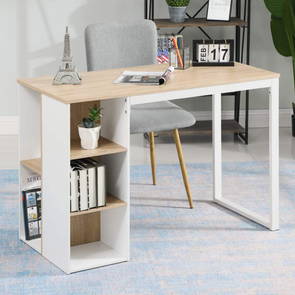 Coavas Writing and Computer Home Office Desk