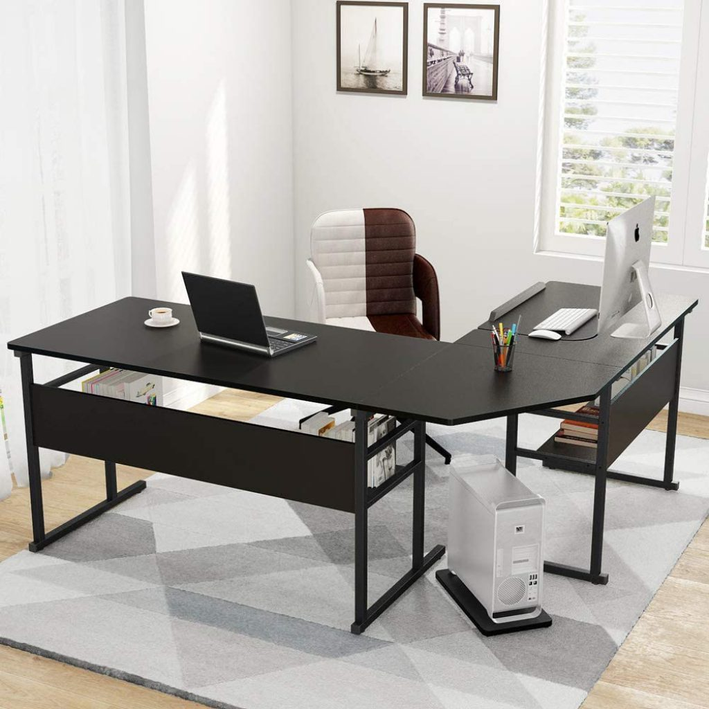 Best Home Office Desk by Tribesigns Modern L-Shape