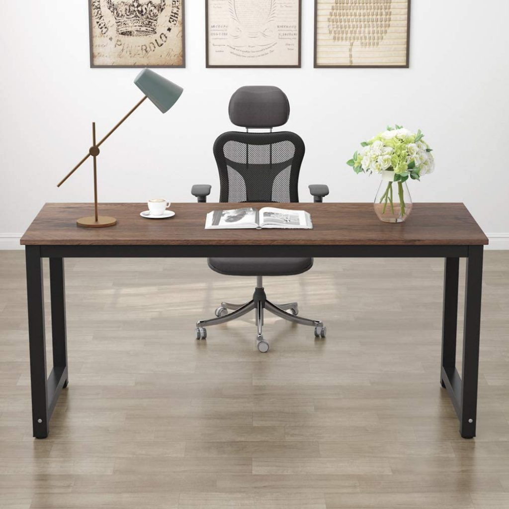 Best Wooden Clean Home Office Desk by Tribesigns